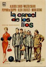 Año 1955. Programa de CINE. Título película: La cárcel de los Líos.
