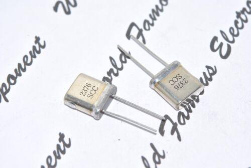 1 un 2376 mhz resonador//de cristal de cuarzo XTAL