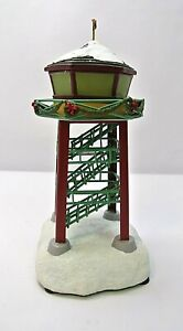 Hawthorne-Village-Control-Tower-Holiday-Towers-Train-Accessory-HO-Railroad