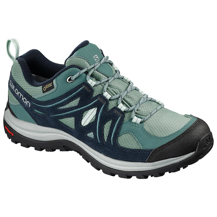 zapatos Escursionismo Trekking Outdoor mujer SALOMON ELLIPSE 2 GTX W Trellis navy