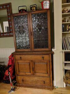 Welsh dresser rustic glass doors ebay image is loading welsh dresser rustic glass doors planetlyrics Gallery