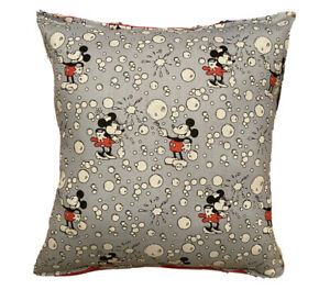 Mickey & Minnie Pillow Mickey Mouse And Minnie Mouse Pillow Handmade in USA 2021