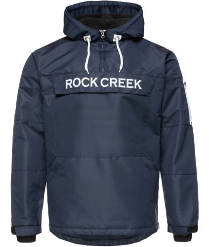 Rock Creek Homme Coupe-Vent Veste Mi-Saison Anorak Glissement Capuche H-167