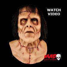 Deluxe THE MONSTER Frankenstein Latex Collectors Mask - Halloween Horror Costume