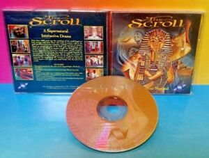 The-Scroll-PC-Game-Tested-Mint-Disc-Rare-Supernatural-Interactive-Drama