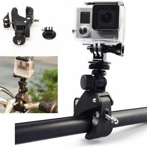 Bike-Bicycle-Motorcycle-Handlebar-Tripod-Mount-Holder-Adapter-GoPro-Hero-3-4-5-6