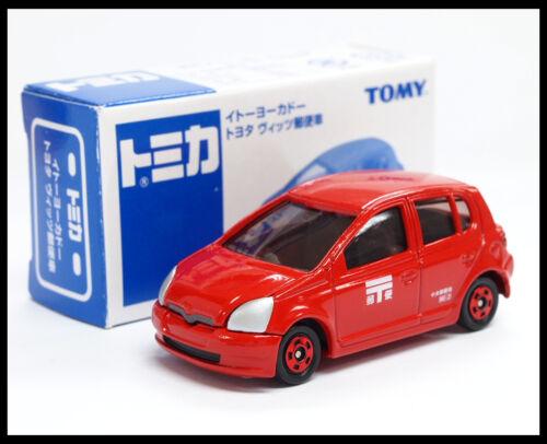TOMICA TOYOTA VITZ Post voiture 1//57 Tomy Diecast voiture 110 Nouveau