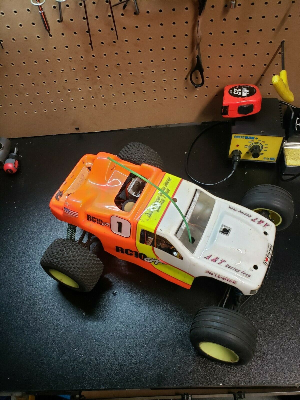 Vintage RC Associated EARLY RC10GT Gas Truck Shock Tower Kit NEW 3K Carbon!