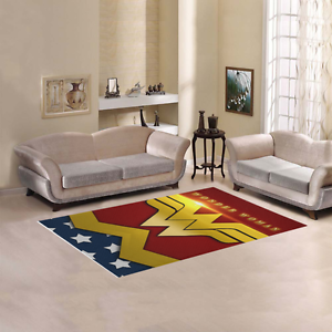 Sweet Home Modern Collection Custom Wonder Woman Area Rug 7 X 5 Ebay