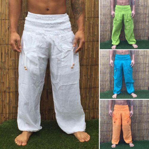 Boho Harem plain Yoga Pants Trousers  Festival Hippy Hippie Baggy bohemian