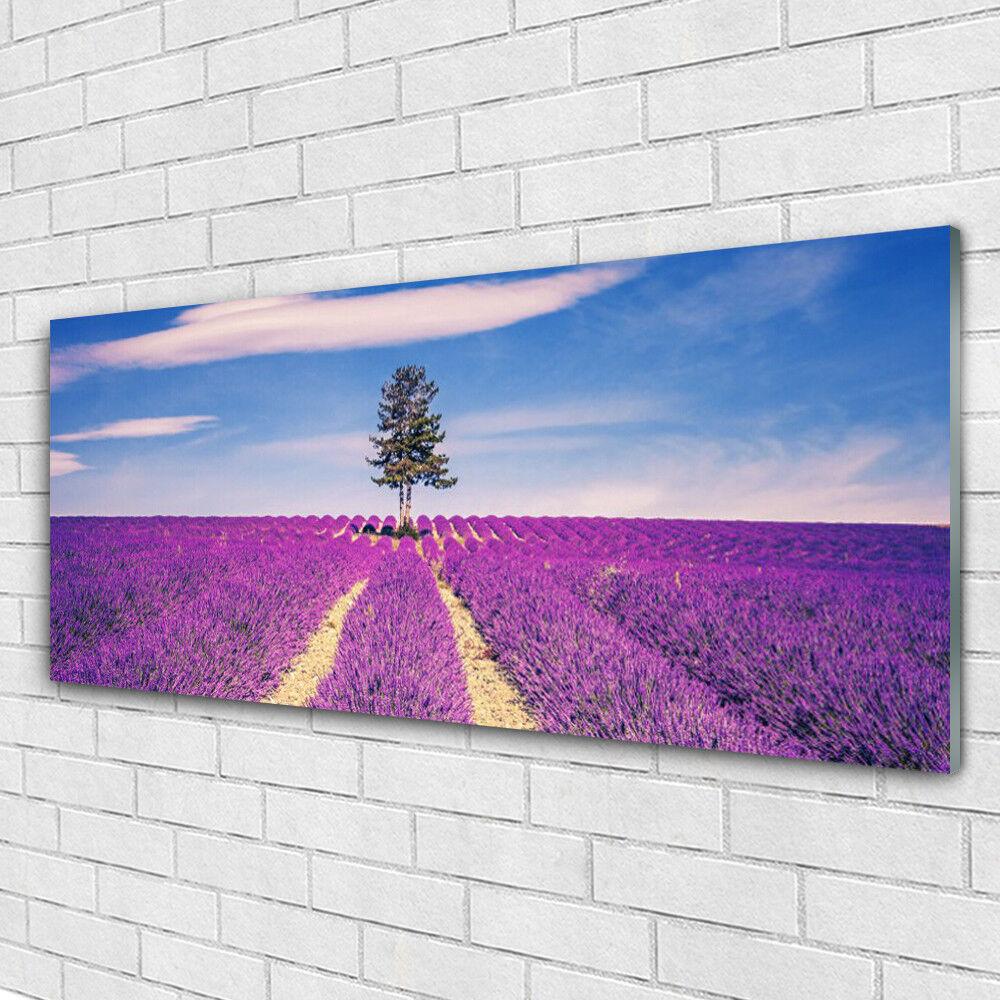 Acrylglasbilder Wandbilder aus aus aus Plexiglas® 125x50 Wiese Baum Landschaft dc76fa