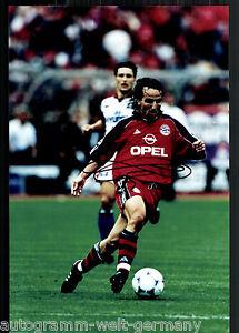 Original, Nicht Zertifiziert Jens Jeremies Super Großfoto 20x30 Cm Bayern München Orig.sign.+16