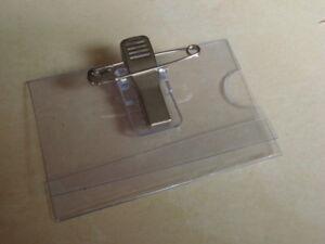 Lote-de-200-chapas-transparentes-plastique-PVC-60x40mm