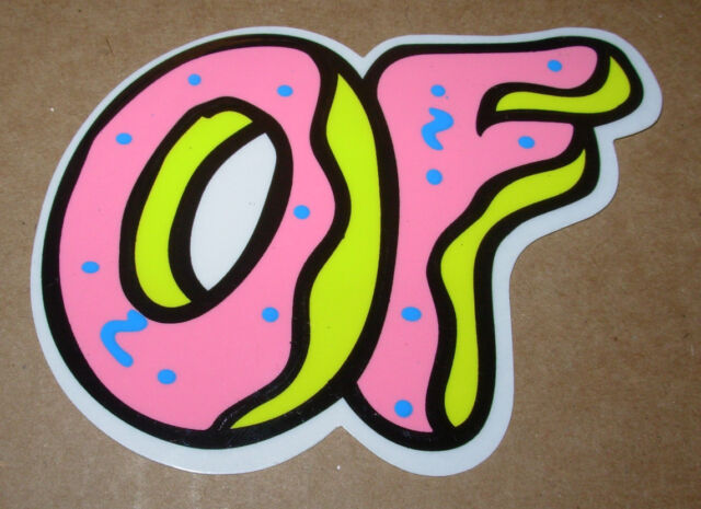odd future ofwgkta sticker donut of band logo decal tyler the