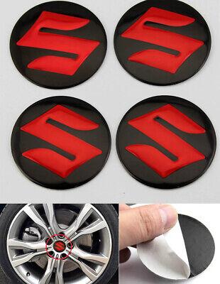 Mitsubishi 68mm Red white Replacement Decal Sticker center cap hub wheel logo