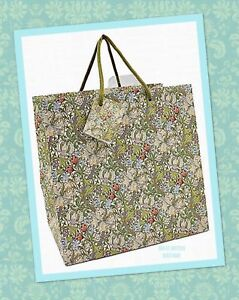 William-Morris-034-Golden-Lily-034-Pattern-Gift-Bag-Medium-23cm-9-1