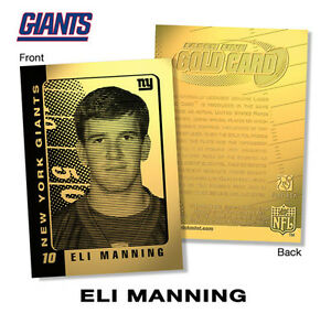 2003-ELI-MANNING-NY-Giants-ROOKIE-23K-GOLD-Card-OFFICIALLY-LICENSED