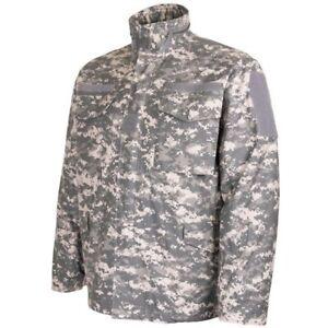 US Style ACU M65 Field Jacket Digital ACU Camouflage Pattern Made by TEESAR Inc