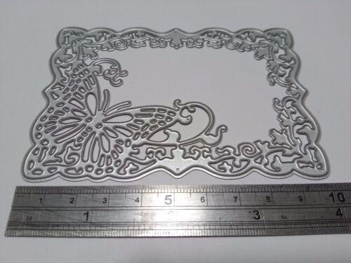 Papillon cadre Découpe Fabrication Carte Scrapbooking Journal Home Decor Art Craft