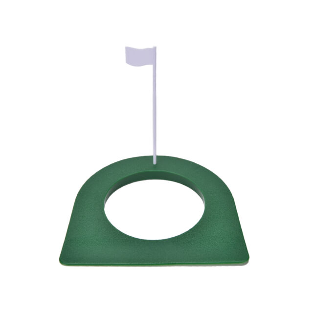 GOLF In/Outdoor Regulation Putting Cup Hole Putter Practice Trainer Aid Flag WL