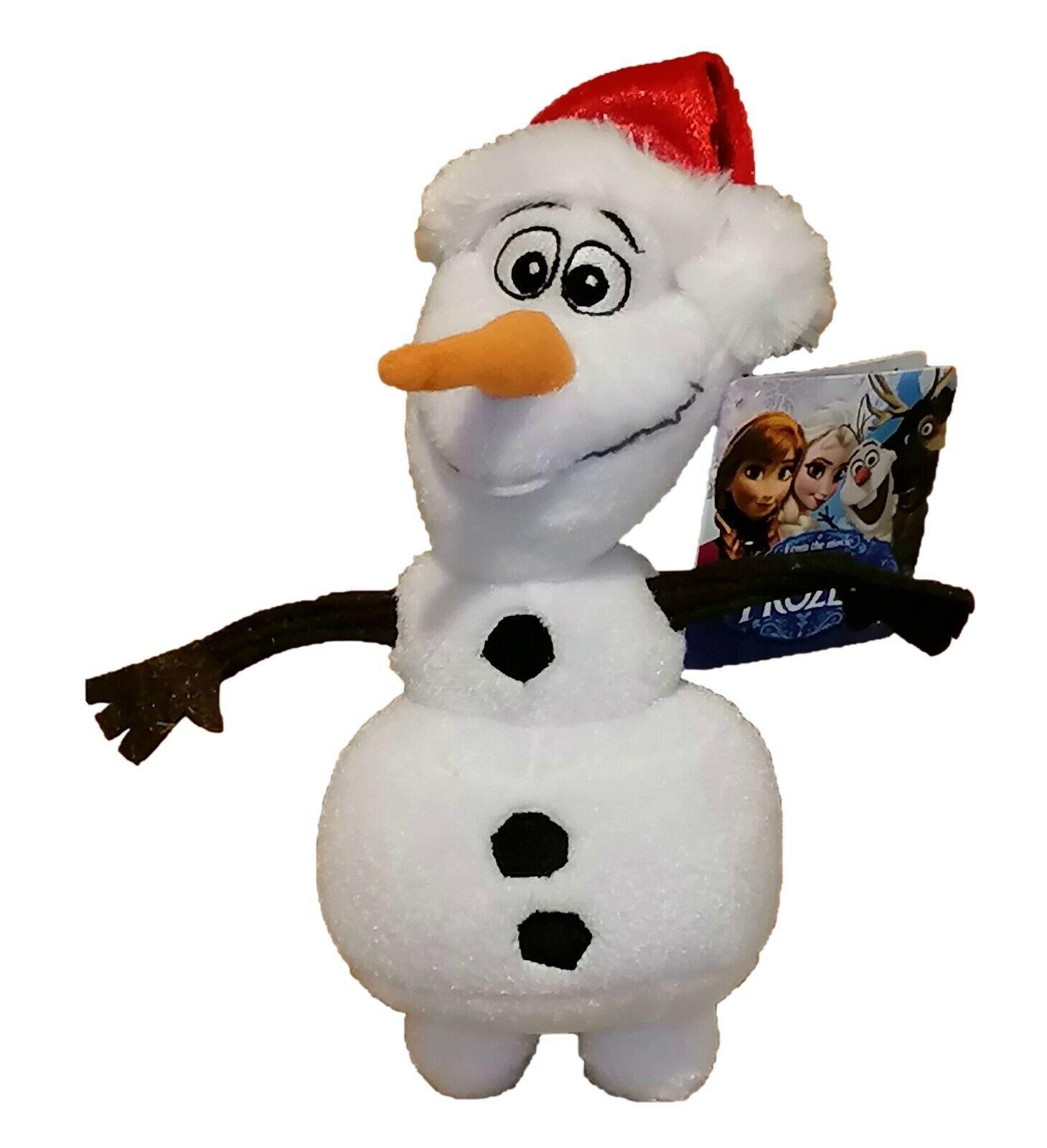 Disney Frozen Olaf Schneemann Bunt Kunstleder Flach Bill Film Mütze