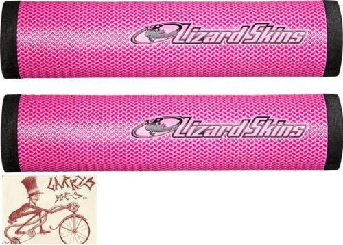 LIZARD SKINS DSP 32.3MM PINK MTB BICYCLE GRIPS