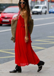 ZARA-RED-STRAPPY-MAXI-DRESS-SUMMER-SIZE-S-M-L