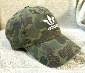"""Men's ADIDAS """"CAMO"""" Cotton Baseball Cap/ Hat"""