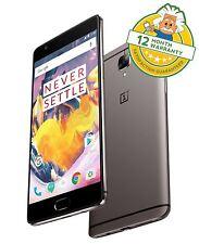 "Oneplus 3T One Plus ThreeT Dual Sim 4G 5.5"" 6GB RAM 64GB 16MP Smartphone GRADE A"