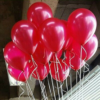 100pcs Wholesale Latex Helium Balloons Party Wedding Birthday Decoration Outdoor