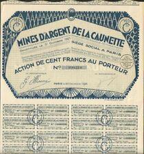 DECO => Mines d'Argent de la CAUNETTE (11) ( V)