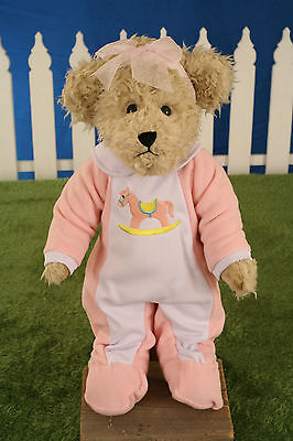 Uncle Beans Bears /'Sophie/' Handmade Teddy Bear Jointed Legs 42cms BRAND NEW