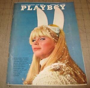 PLAYBOY (Nov 1966) Good- Condition Magazine - LISA BAKER PMOTM - VARGAS ART