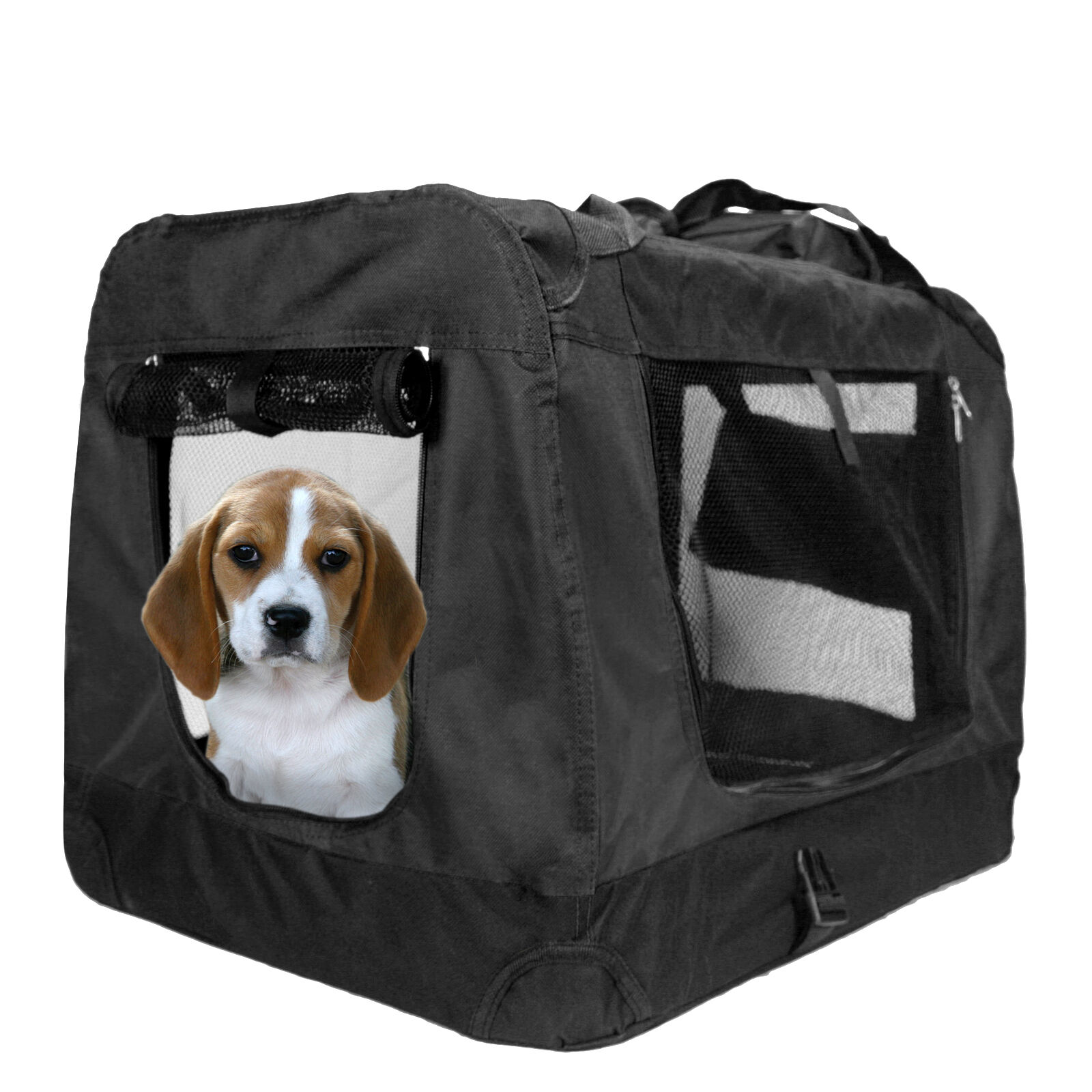 Dog Carrier Portable Pet Crate Soft Sided Comfort Travel Crate