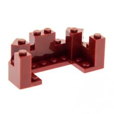 LEGO Dark Red Fenris Wolf Animal Head Body Part Piece