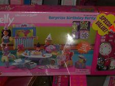 1999 KELLY CLUB SURPRISE BIRTHDAY PARTY PLAY SET WITH BONUS KELLY ACCESSORY SET