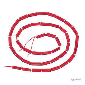 16-034-Red-Bamboo-Coral-Round-Tube-Seed-Beads-3x9mm-63109
