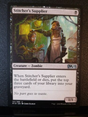 Stitcher/'s Supplier M19 Core 2019 MTG Magic NM See Detailed Pictures