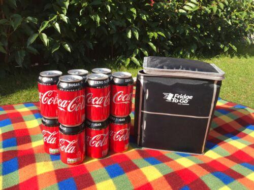 Cooler Bag Thermos Sac Grand frigo pour aller: Cool Box Aliments//Boissons Glacière 12 canettes