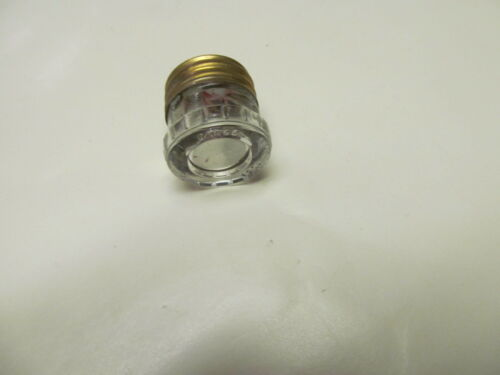 Glass Electric Screw Plug Fuse  25A 120V Vintage