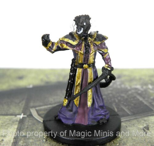 Tyranny of Dragons ~ HALF BLACK DRAGON LORD #33 Icons of the Realms rare D/&D