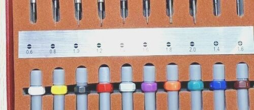 New Set of 10 Ergonomic Professional Screwdriver Swisstech with 10 refills S10