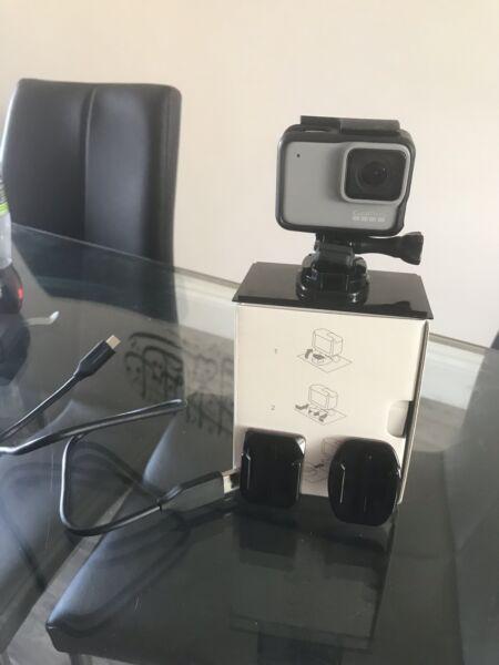 DernièRe Collection De Gopro Hero 7 Blanc Caméra D'action Microsd Imperméable RafraîChissement