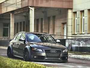Audi A4 S4 Fender Flares Concave Wide Body Kit Wheel