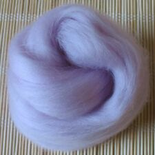 100g Merino Wool Tops 64's Dyed Fibres - Old Rose - Felt Making and Spinning