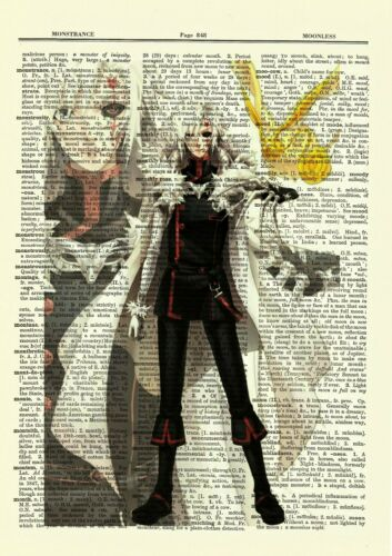 D Gray Man Dictionary Art Print Poster Picture Anime Allen Walker