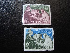 Vatican-Stamp-Yvert-and-Tellier-N-189-N-MNH-190-New-Without-Gum-Be