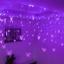 96-LED-Butterfly-Curtain-Fairy-String-Lights-Lamp-Xmas-Romantic-Wedding thumbnail 3