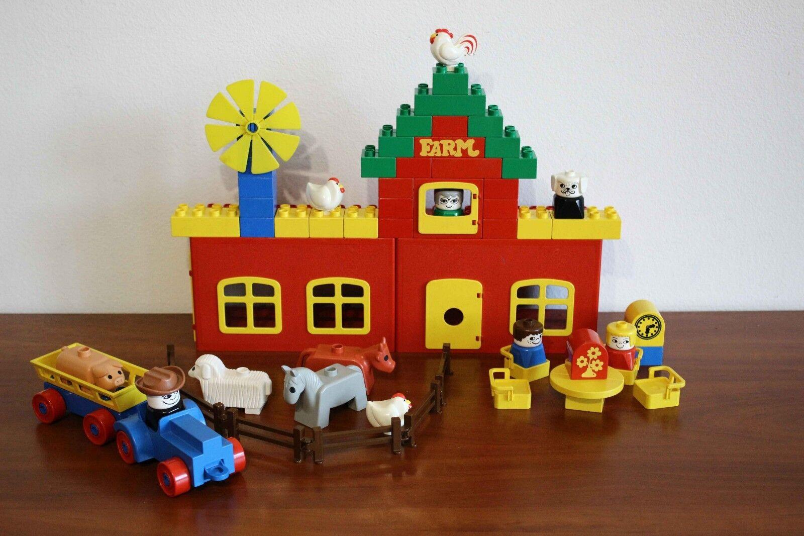 Lego Duplo Town Vintage Set 045-1 Farm - very rare