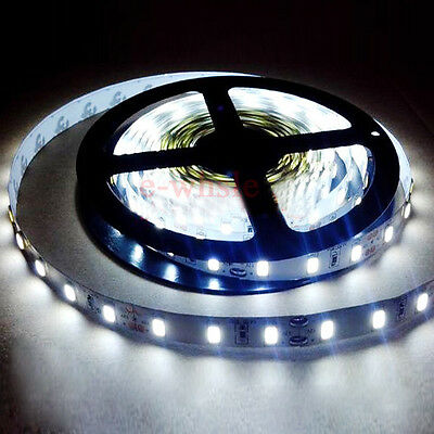 5M 300Leds 5630 SMD Cool White Non-Waterproof Led Strip Lights High Brightness